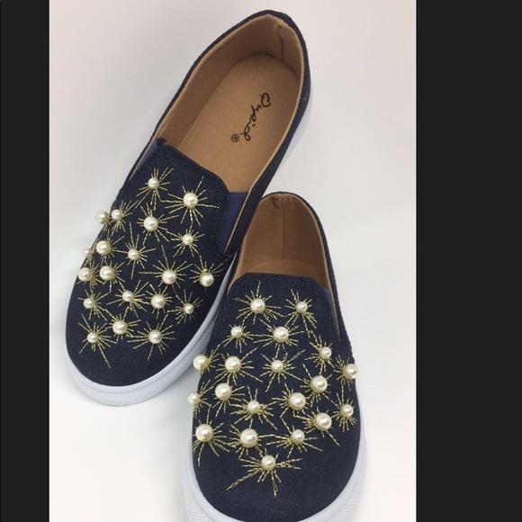 Jean Pearl Slip On Sneakers | Poshmark